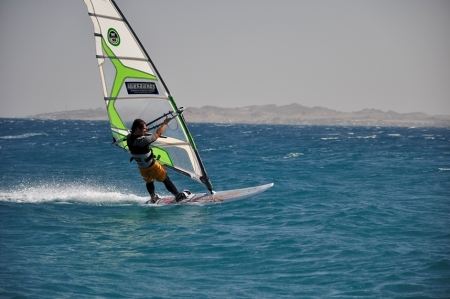 Windsurfing in Hurghada