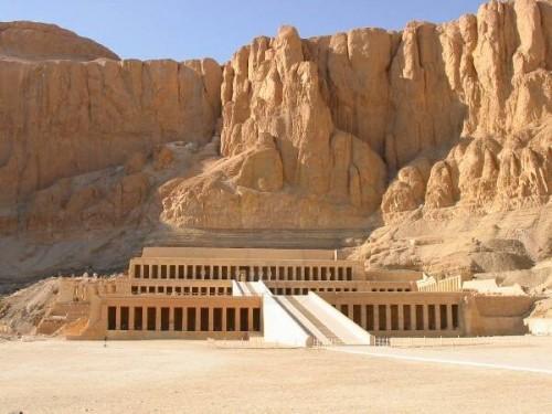 O templo de Hatshepsut, Egito