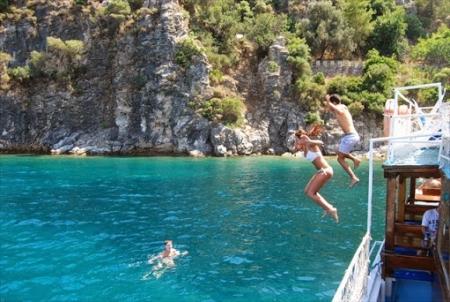 Short Gulet Cruises Turkey- Sundeck