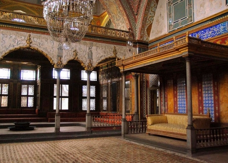 Topkapi Palace Throne Room