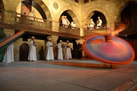 Derviches tourneurs au Wekalet Al Ghouri