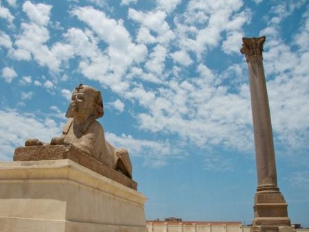 La Colonna di Pompeo, Alessandria