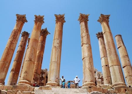Tempio di Artemide a Jerash
