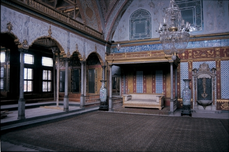 Inside Topkapi Palace in Istanbul