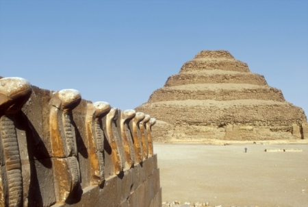 The Step Pyramid at Saqqara Complex