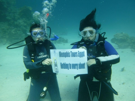 Scuba Diving in Red Sea with Memphis Tours
