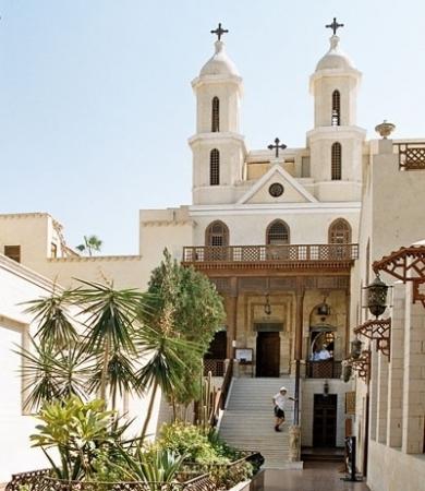 Église Suspendue, Le Caire
