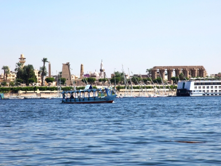 Karnak Temple from the Nile side