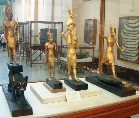 Tutankhamun's Statuettes