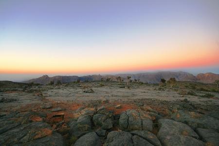 Colors of Jabal Shams