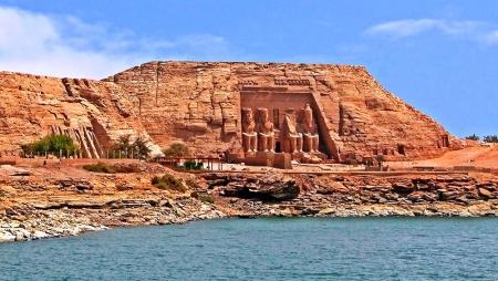 Vista Panoramica del Tempio di Abu Simbel