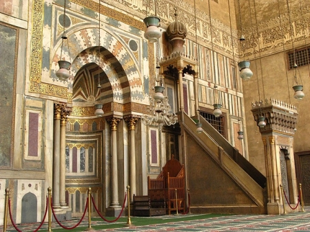 Mihrab and Pulpit of Sultan Hasan Mosque