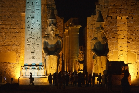 Luxor Temples by the night