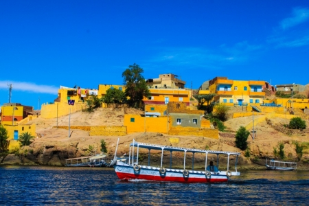 Nubian Villages On The Nile