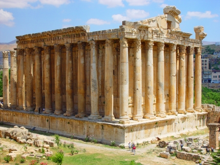 The Old Roman Temples of Baalbek