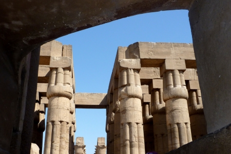 Columns of Luxor Temple