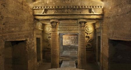 Catacomb in Alexandria, Egypt