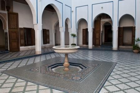 バヒア宮殿、マラケシュ