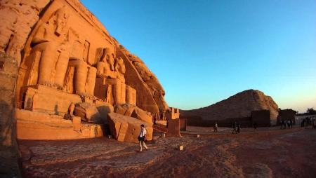 Sun Rise at Abu Simbel, Egypt