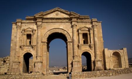 Hadrian's Arch, Jerash