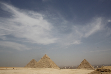 Fabulous view of Pyramids