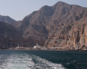 Kumzar Village in Oman