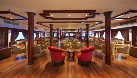 Amwaj Livingstone Nile Cruise Lounge Bar
