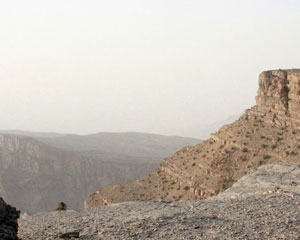 Grand Canyon in Oman
