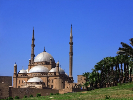 Mohamed Ali Alabaster Mosque at Salah El Din Citadel in Cairo