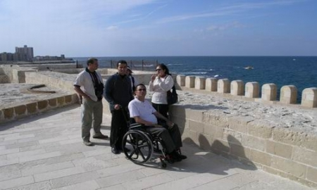 Alexandria Fortress, Accessible trips