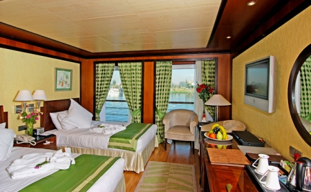 MS Amarco Twin Bed Cabin