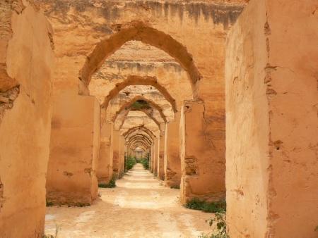 Royal Stables in Meknes