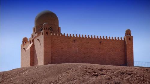 A View of St.Simeon Monastery, Aswan