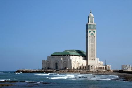 A mesquita de Hassan II