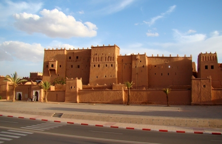 The Roads of Ouarzazate City
