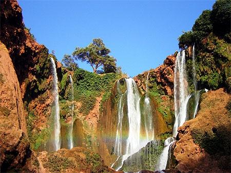 Las Cascadas d' Ouzoud, Marruecos.