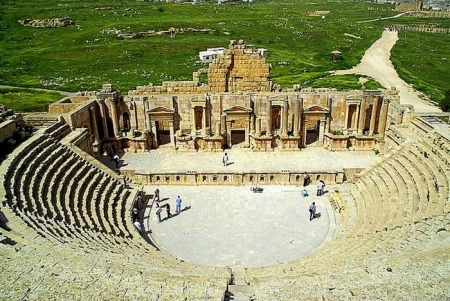 North Theater of Jerash