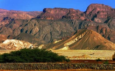 Red Sea and Sinai Landscape