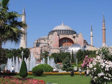 アヤソフィア博物館、トルコ