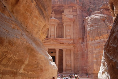 The Siq, (Way to Petra)