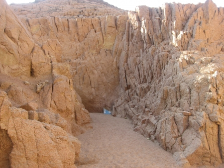 The awesome landscapes of Sinai Desert