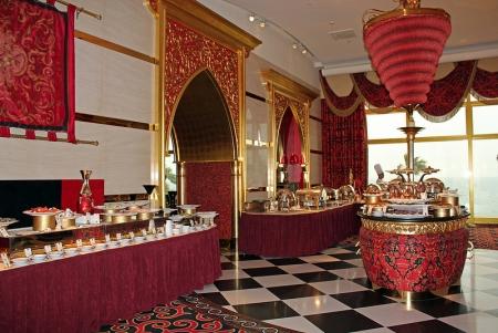 Cena a Burj al Arab