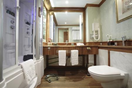 Sonesta St. George Cabin`s Bathroom