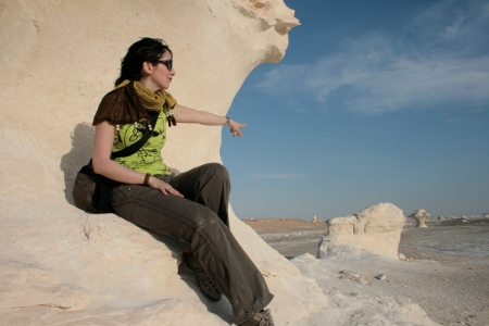 Rock Formations at the White Desert