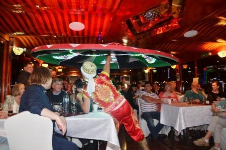 Tanoura Dance In Dhow Cruise