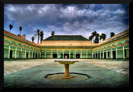 El Palacio de Bahía, Marrakech.
