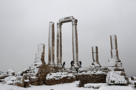 Amman During Winter