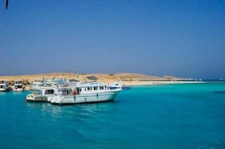 Les eaux turquoises d'Hurghada