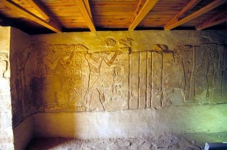 Tempio di Ain El Meftella, Oasi Bahariya