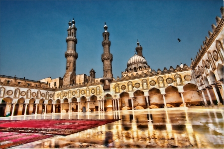 Al-Azhar Mosque in Cairo